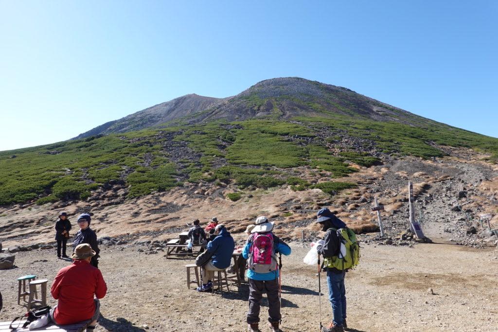 乗鞍岳・肩の小屋・剣ヶ峰と朝日岳