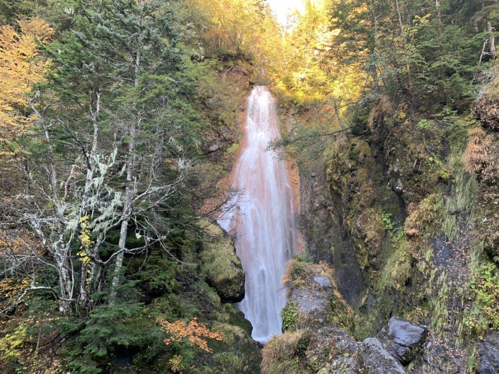 乗鞍岳・日本の滝百選・三本滝・滝その1