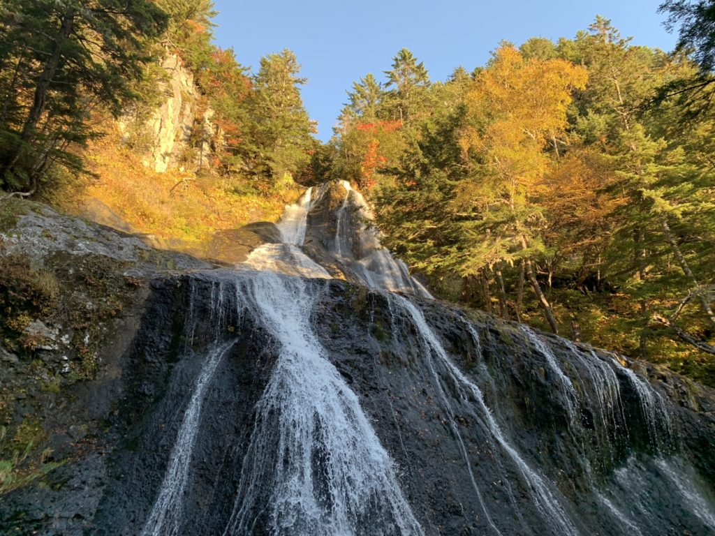 乗鞍岳・日本の滝百選・三本滝・滝その2