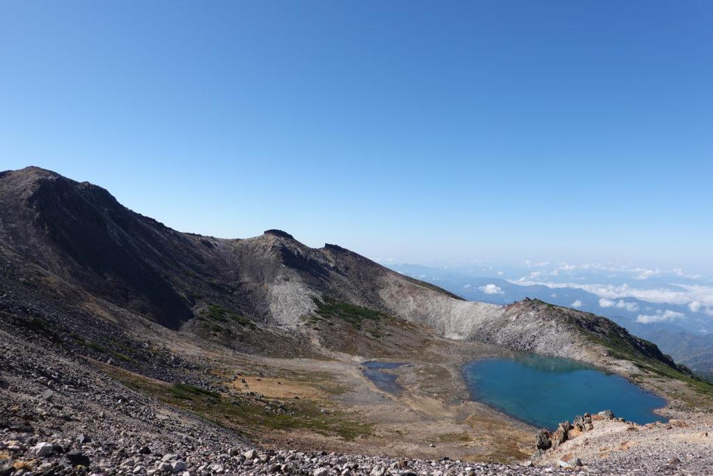無雪期・乗鞍岳・大日岳(奥ノ院)、屏風岳、薬師岳