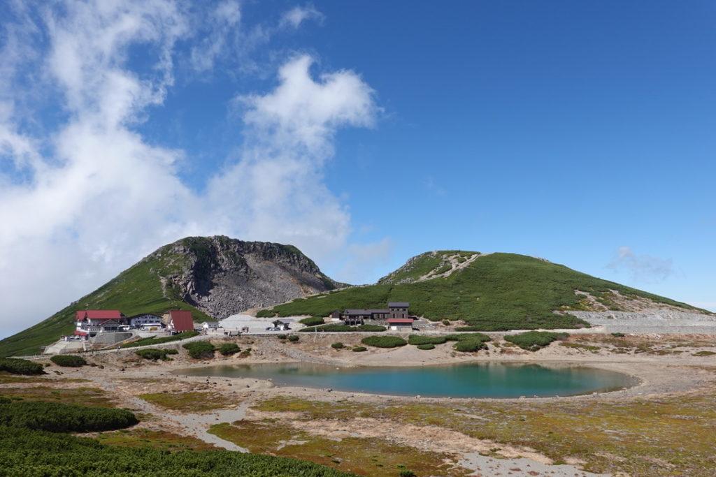 乗鞍岳・乗鞍畳平、鶴ヶ池、恵比寿岳、魔王岳