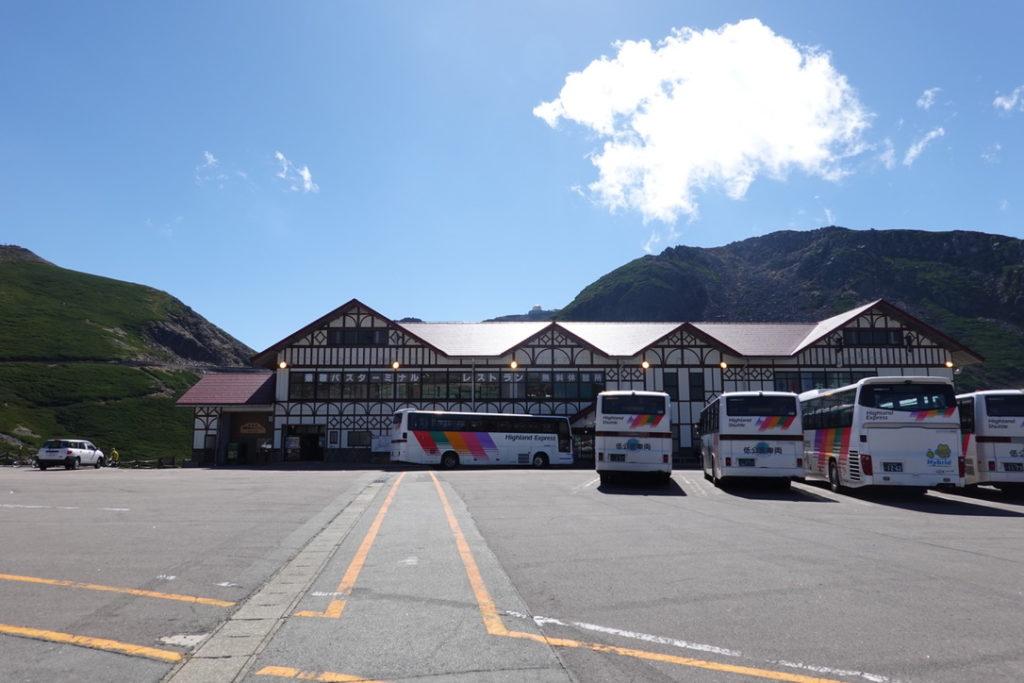 乗鞍岳・再びの乗鞍バスターミナル