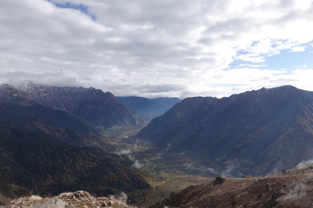 焼岳・焼岳・北峰山頂からの上高地