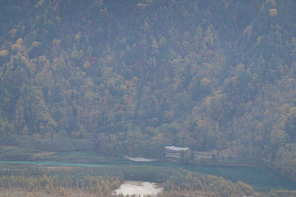 焼岳・中尾峠からの大正池