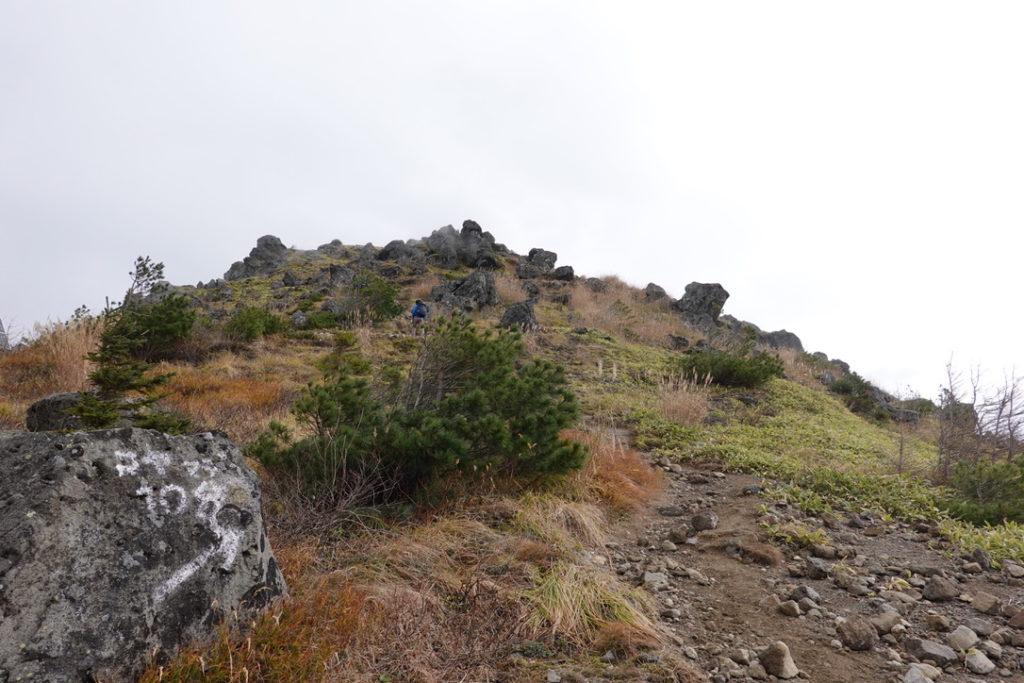 焼岳・中尾峠から展望台へ