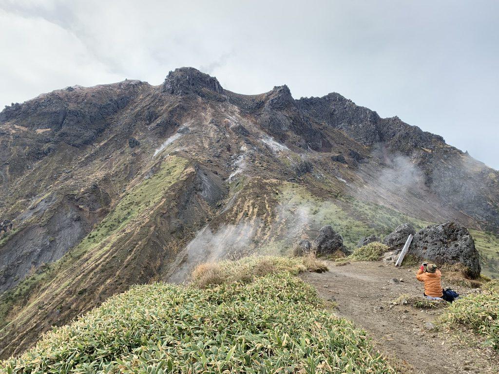 焼岳・展望台からの焼岳北峰