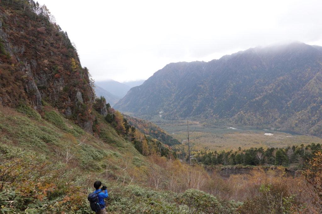 焼岳・上高地・大正池を望む