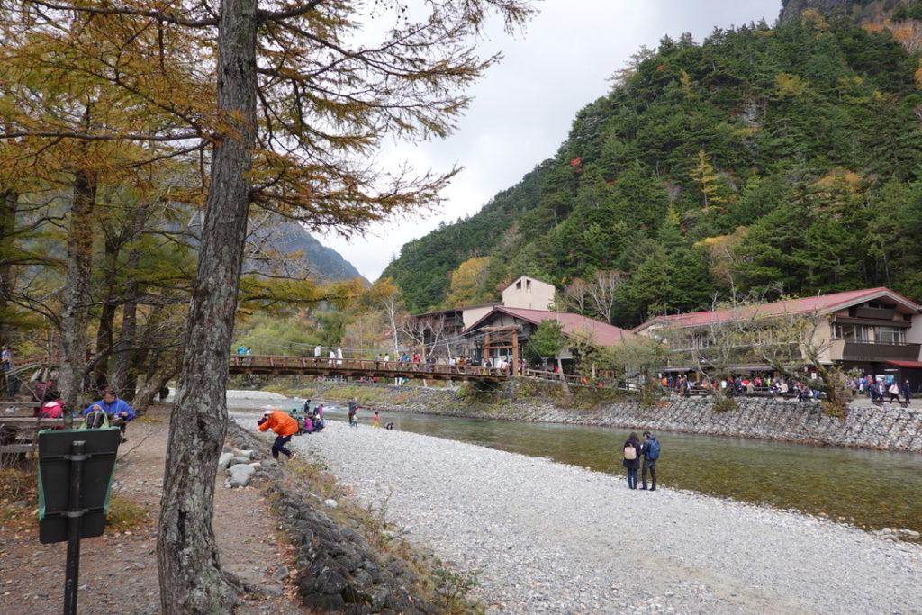 焼岳・上高地・河童橋
