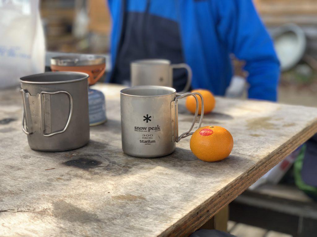 甲武信ヶ岳・甲武信小屋で千曲川源流の水をつかったコーヒーをいただく
