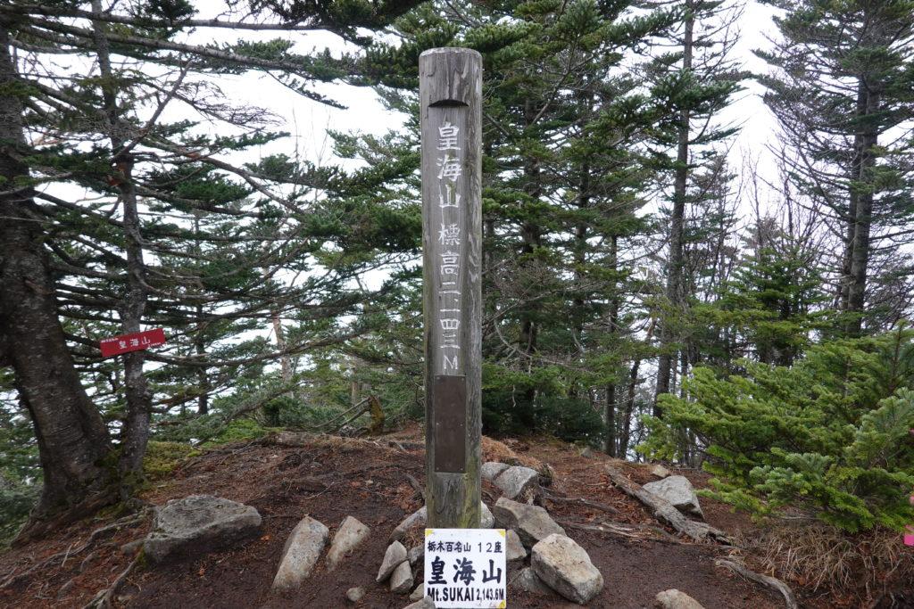 皇海山・日本百名山48座目皇海山