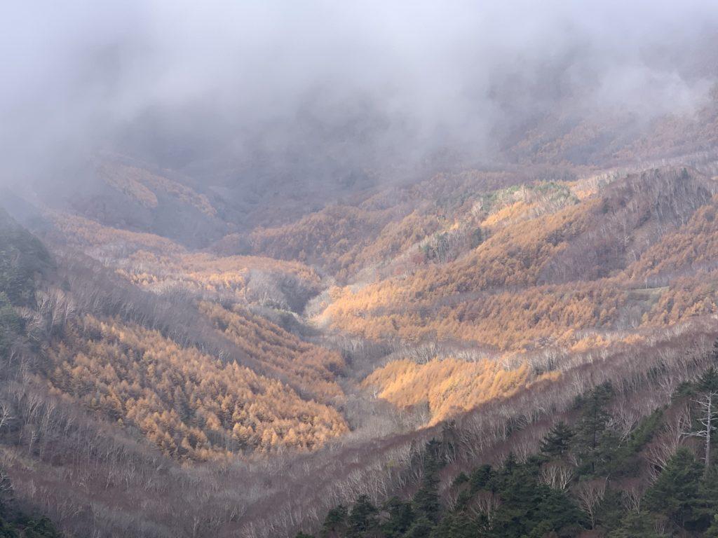 皇海山・鋸山からの不動沢
