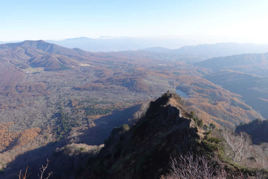 高妻山・戸隠山・蟻の塔渡り(ナイフリッジ)と飯縄山