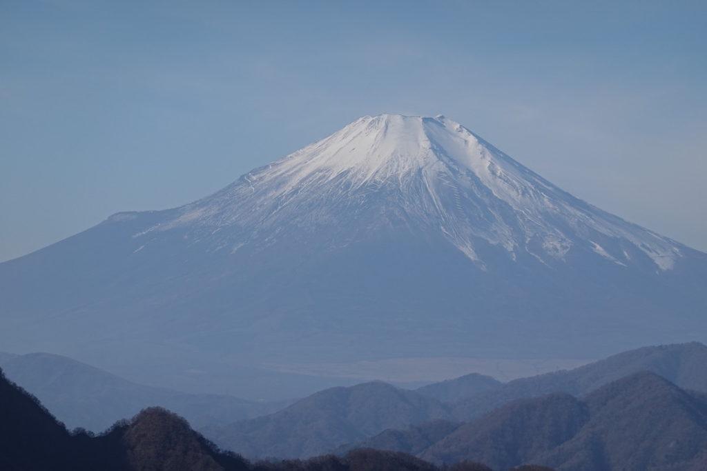 蛭ヶ岳・姫次からの富士山・アップ