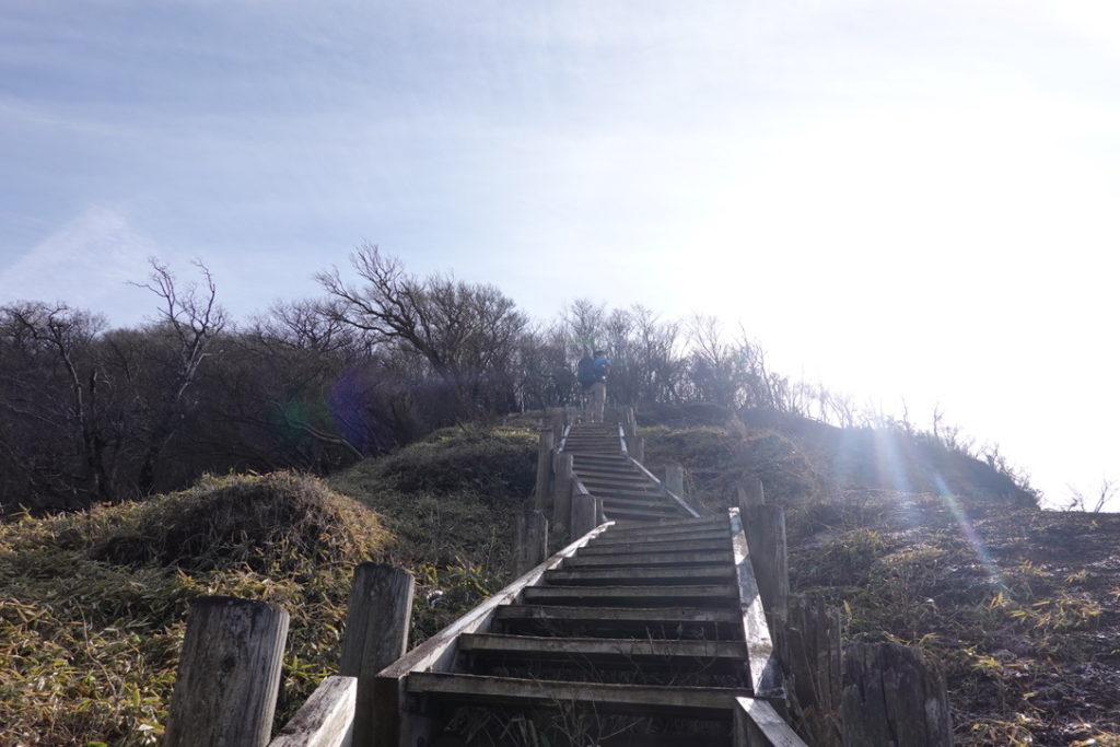 蛭ヶ岳・蛭ヶ岳へと続く木道・まだまだ木道続きます