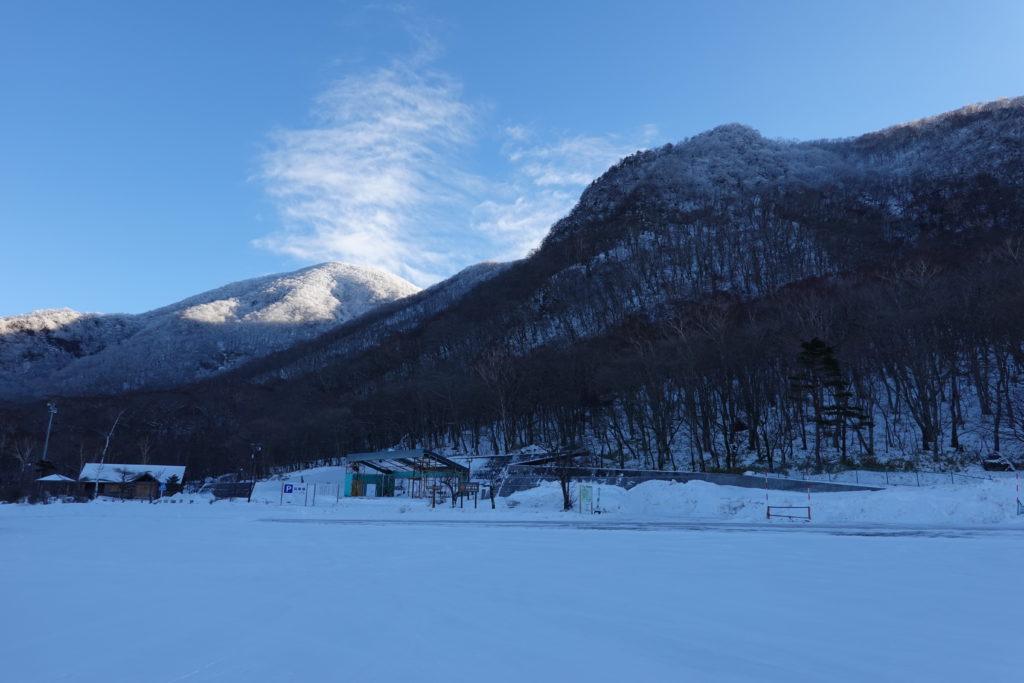 厳冬期・赤城山(黒檜山・駒ヶ岳)・おのこ駐車場から黒檜山・駒ヶ岳