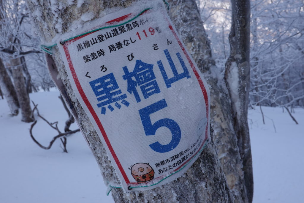 厳冬期・赤城山(黒檜山・駒ヶ岳)・黒檜山5「ころとん」