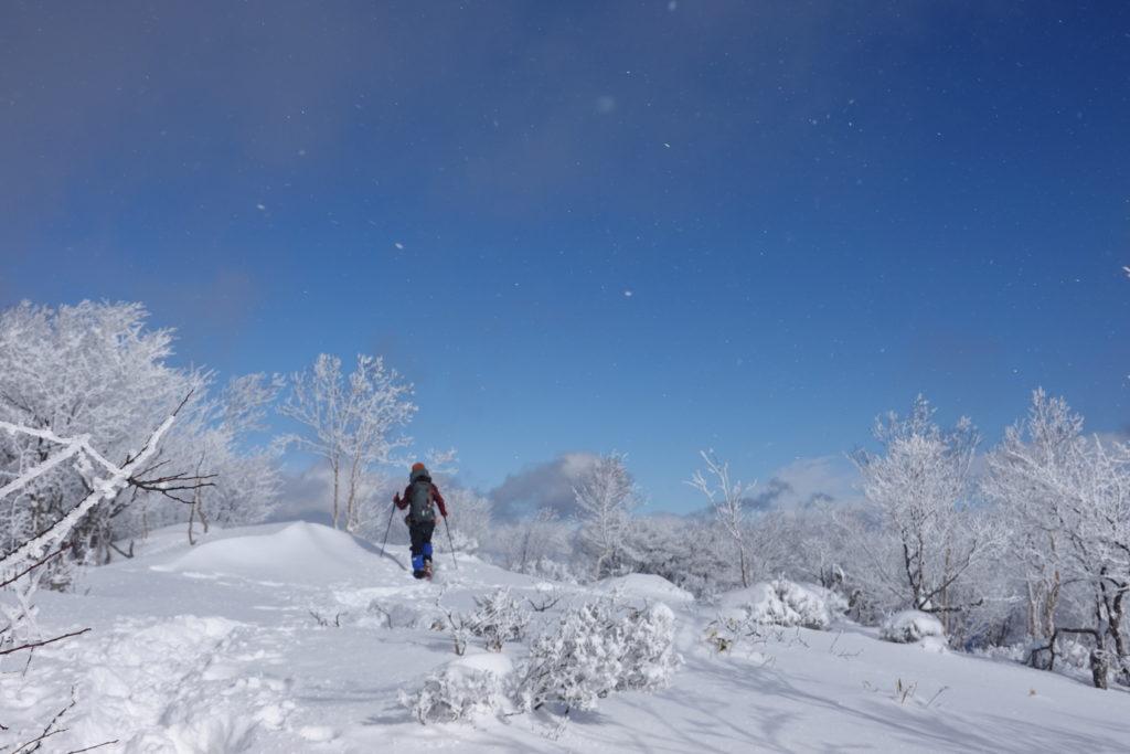 厳冬期・赤城山(黒檜山・駒ヶ岳)・黒檜山絶景スポットへ