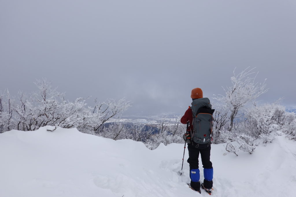 厳冬期・赤城山(黒檜山・駒ヶ岳)・黒檜山絶景スポット
