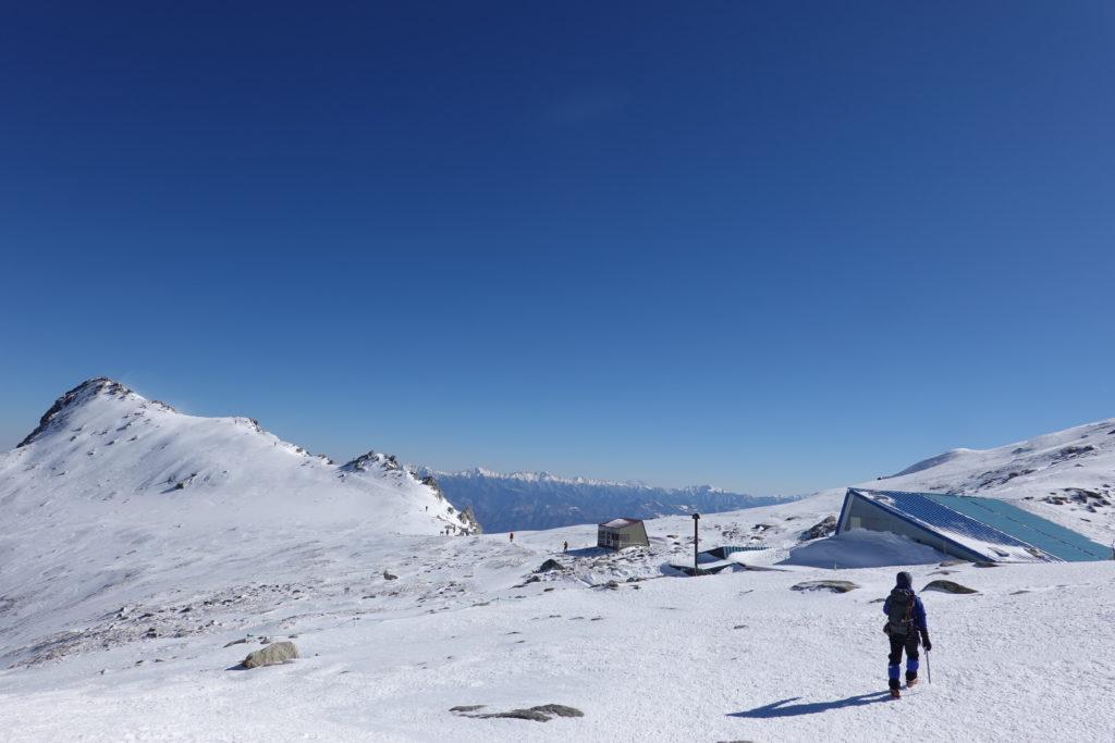 厳冬期・木曽駒ヶ岳・乗越浄土と伊那前岳