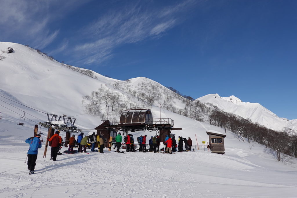 厳冬期・谷川岳・谷川岳天神平スキー場