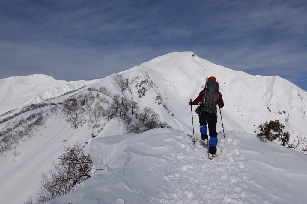 厳冬期・谷川岳・熊穴沢避難小屋へ