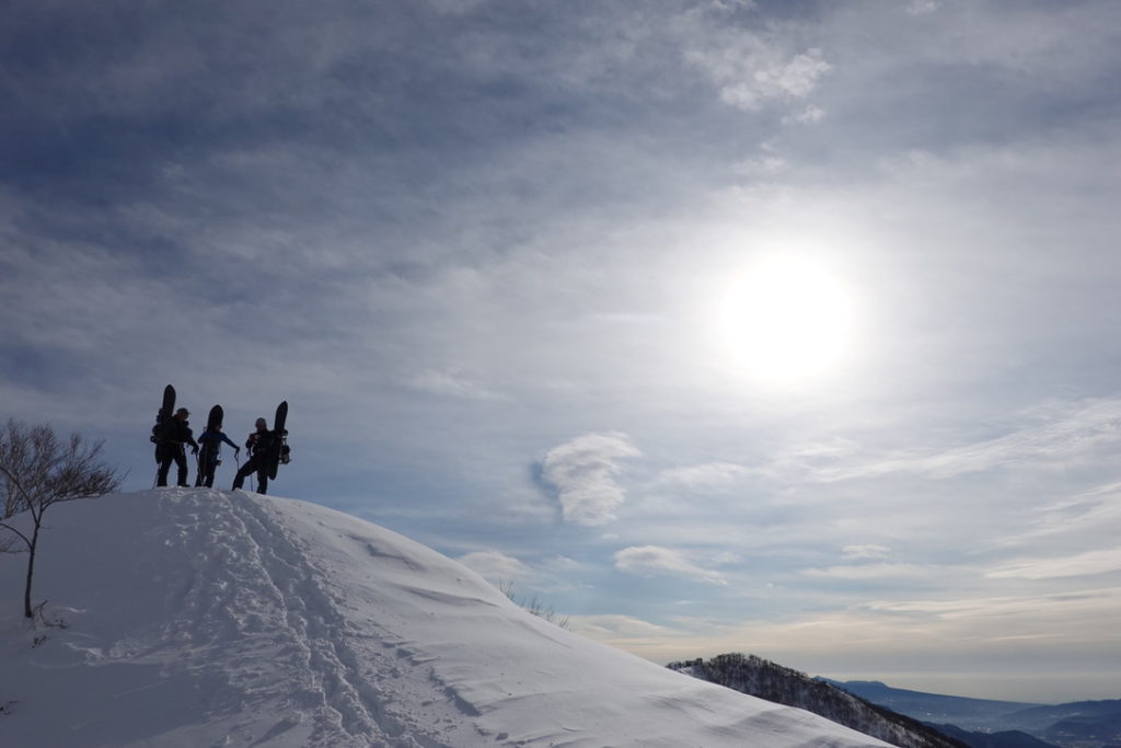 厳冬期・谷川岳・熊穴沢ノ頭