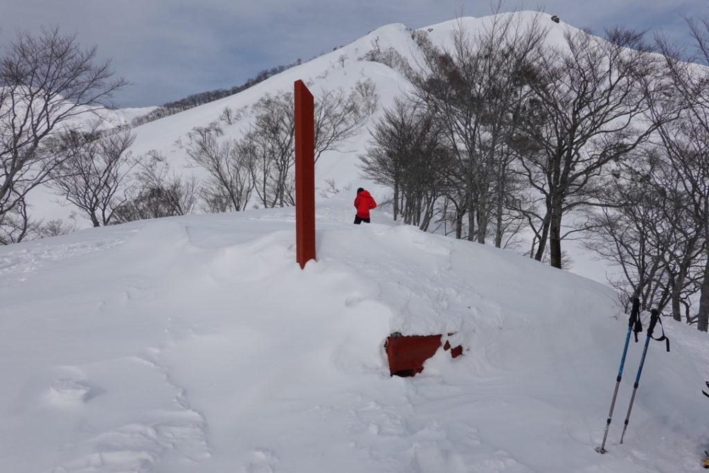 厳冬期・谷川岳・熊穴沢避難小屋