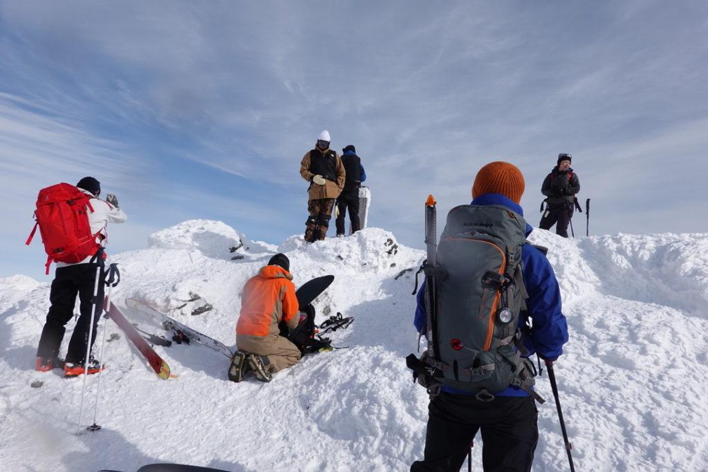 厳冬期・谷川岳・トマノ耳