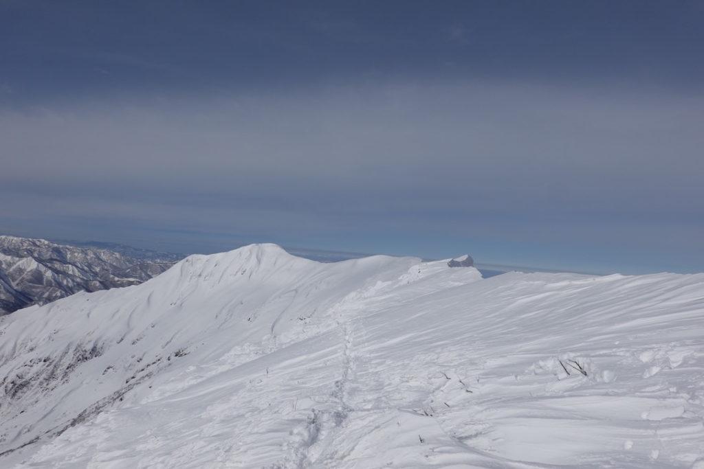 厳冬期・谷川岳・オキノ耳から一ノ倉岳