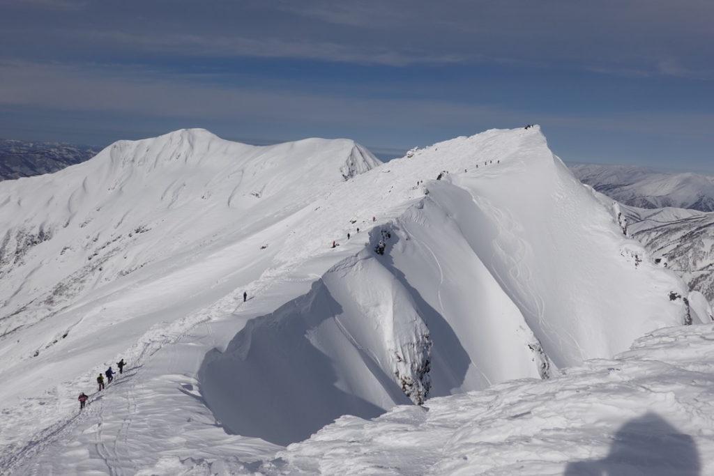 厳冬期・谷川岳・トマノ耳からオキノ耳・再び