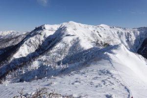 厳冬期・武尊山・雪の上州武尊山(沖武尊)
