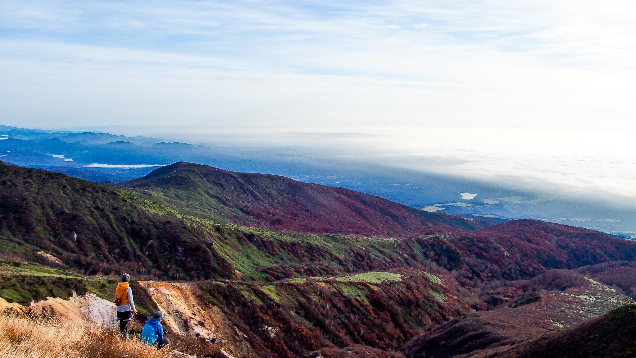 那須岳・朝日岳からの展望