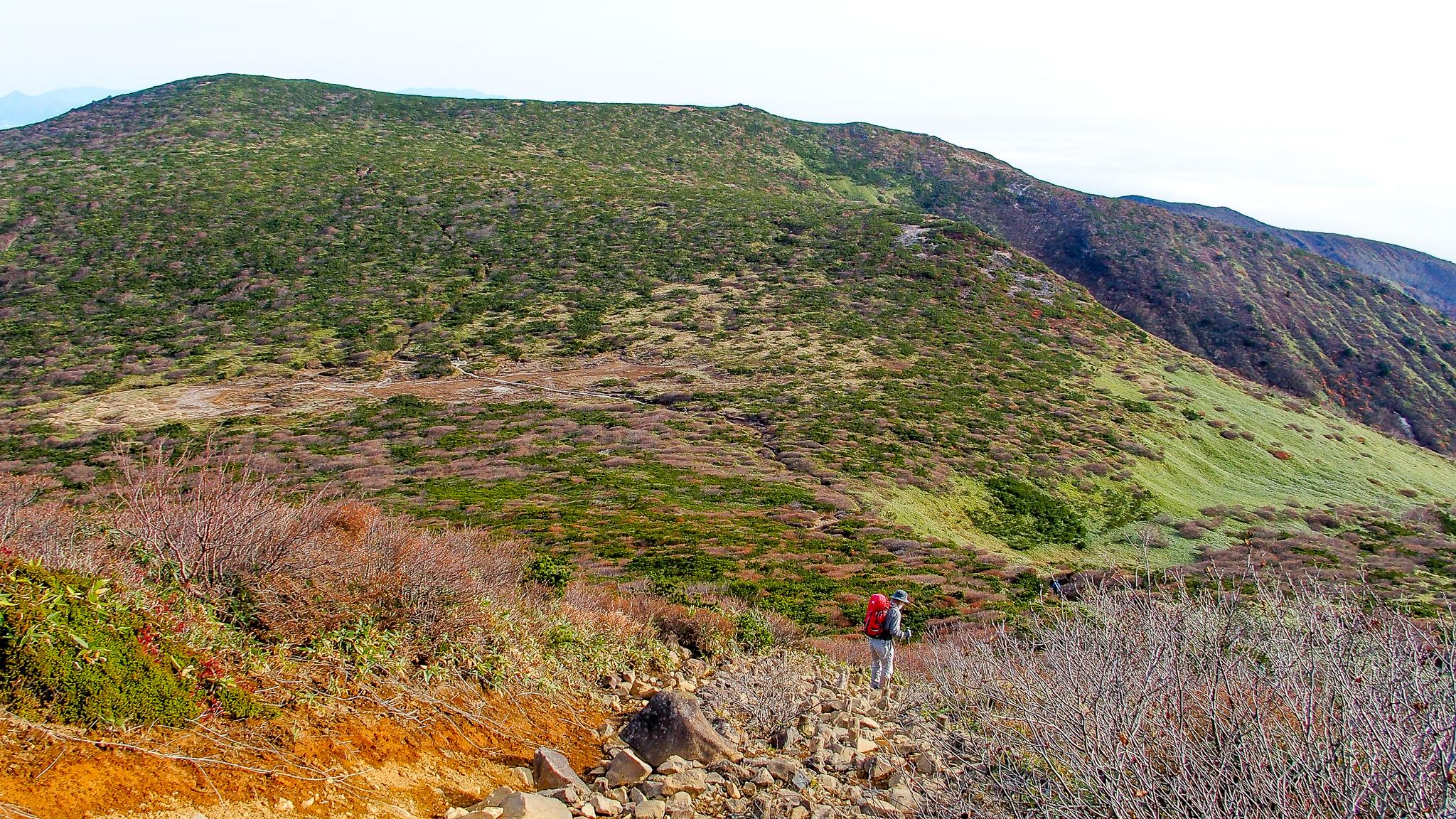 那須岳・1900m峰の次にあるのは清水平