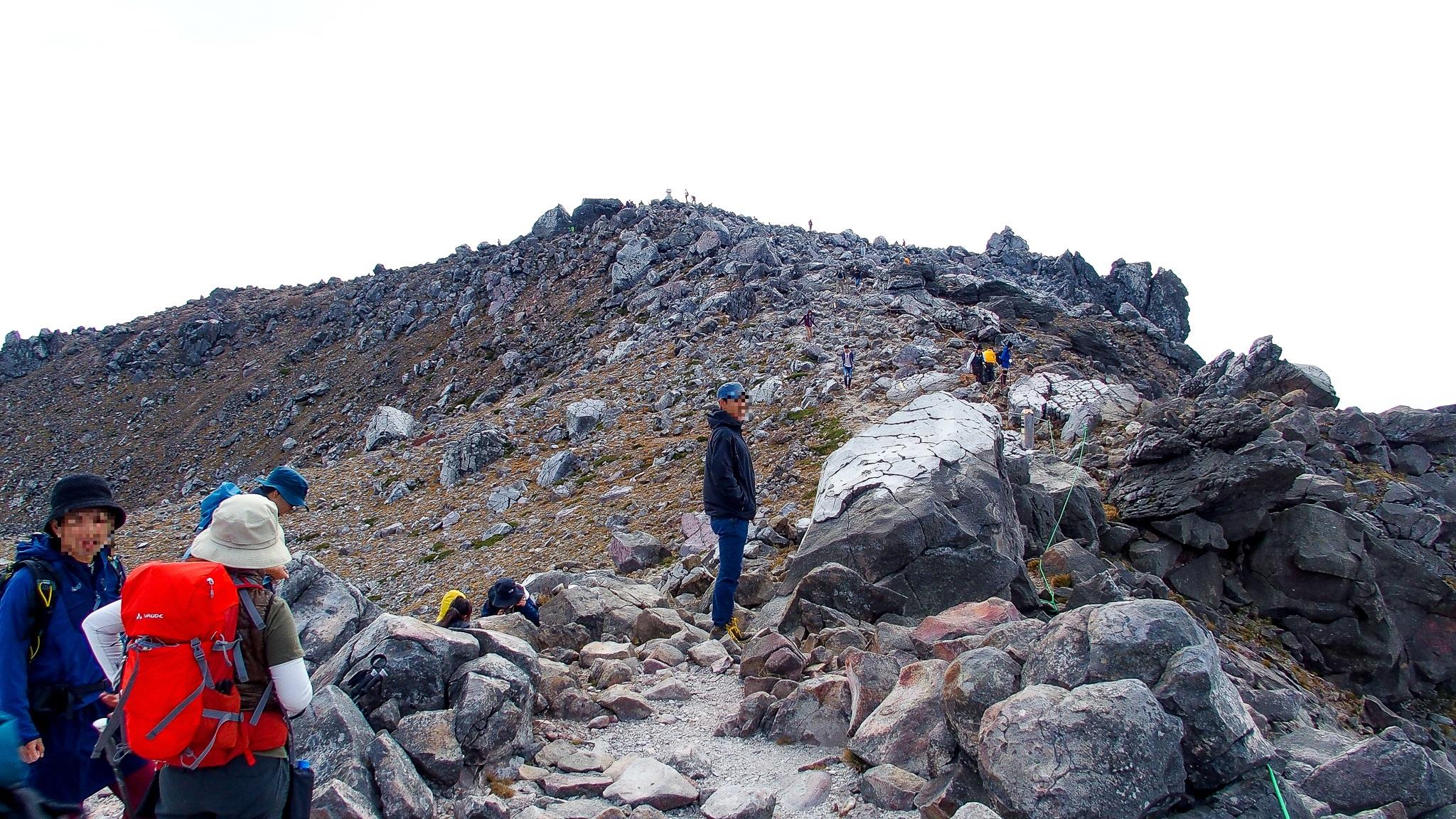 那須岳・三山最後の茶臼岳