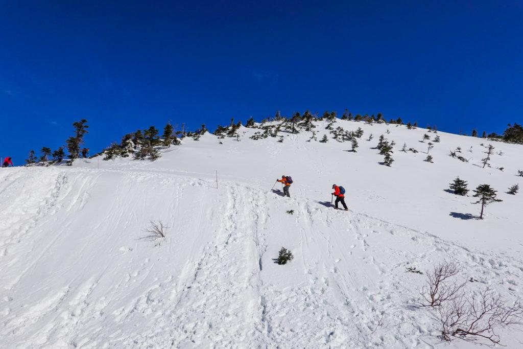 厳冬期・西穂高岳・西穂独標・西穂丸山へ