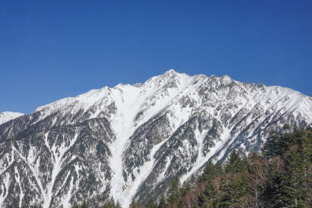厳冬期・西穂高岳・西穂独標・新穂高ロープウェイ・西穂高口駅・山頂展望台・西穂高岳