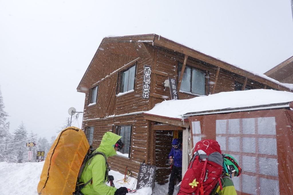 厳冬期・西穂丸山・西穂山荘