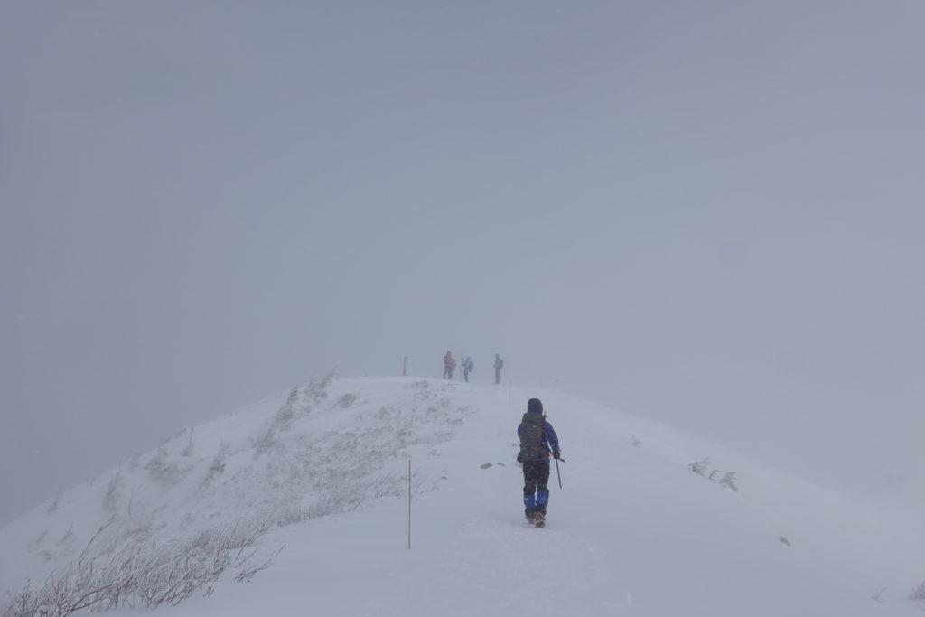 厳冬期・西穂丸山・丸山