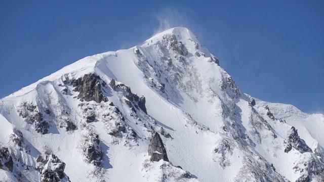 積雪期・唐松岳