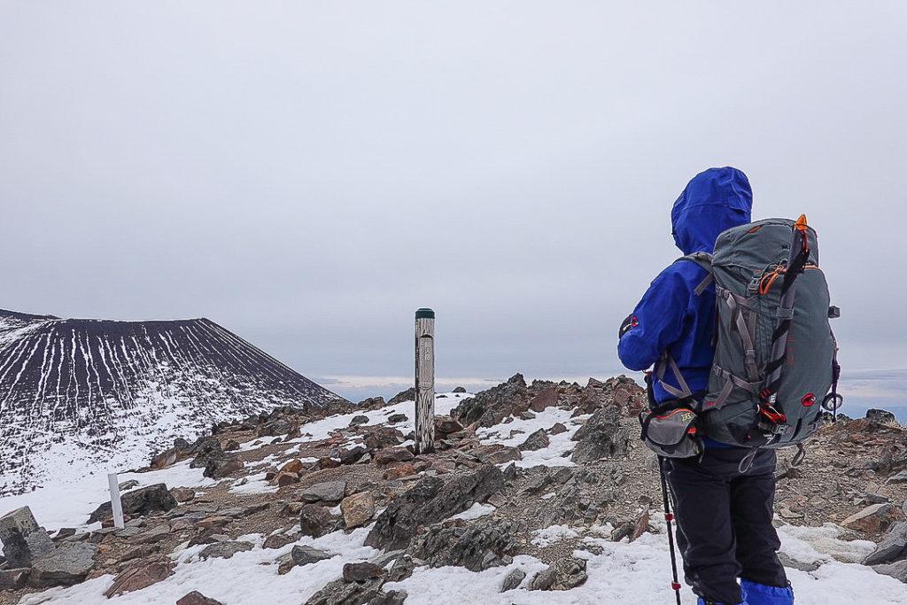 残雪期・浅間山・仙人岳山頂