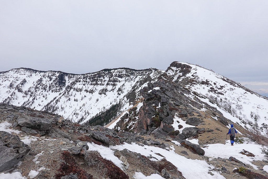 残雪期・浅間山・行きはよいよい帰りはツライ