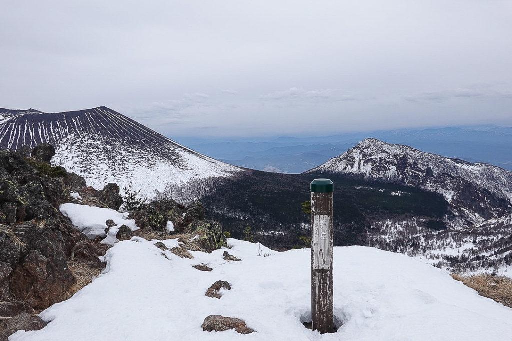 残雪期・浅間山・ふたたびの蛇骨岳
