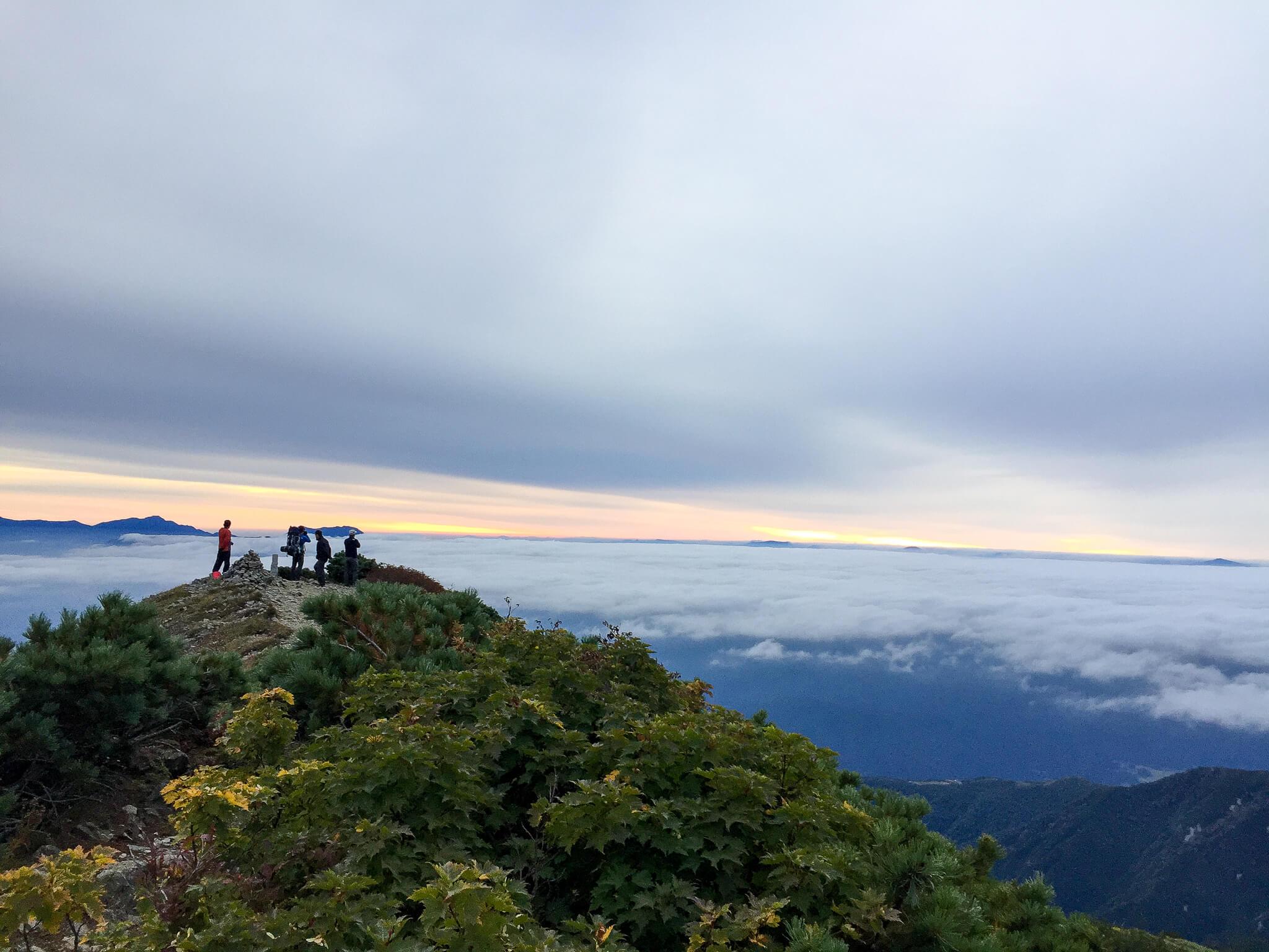 五竜岳・白岳山頂