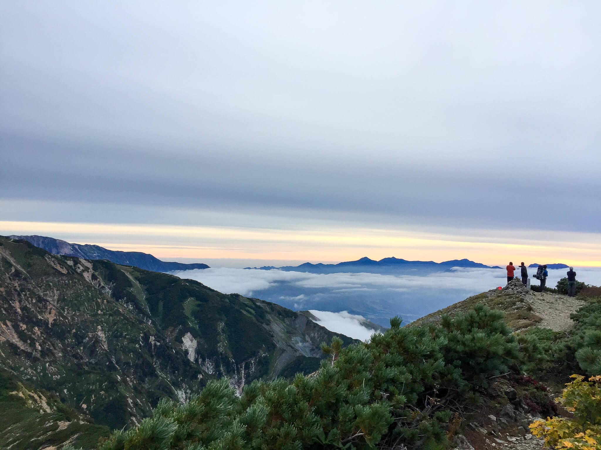 五竜岳・白岳山頂2