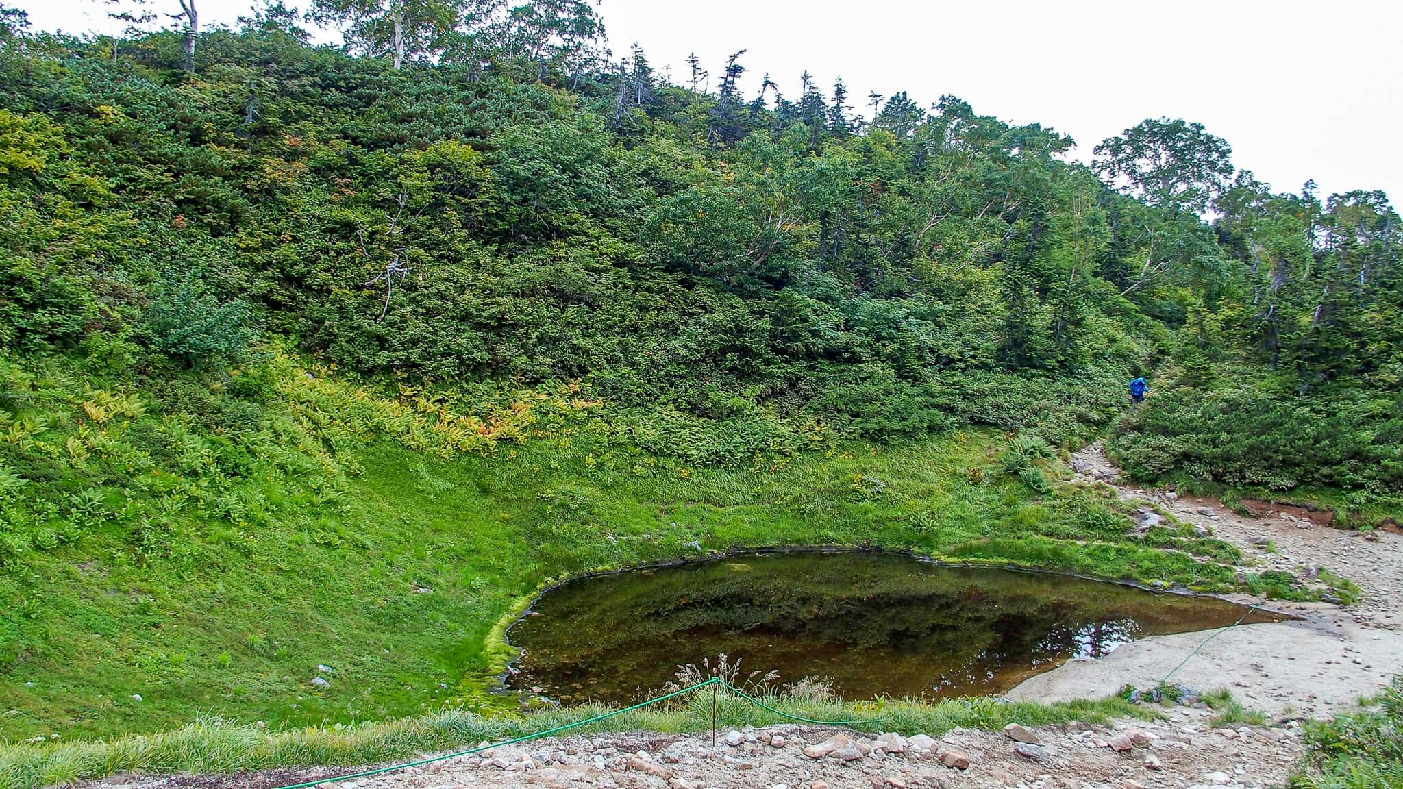 五竜岳・遠見尾根の池