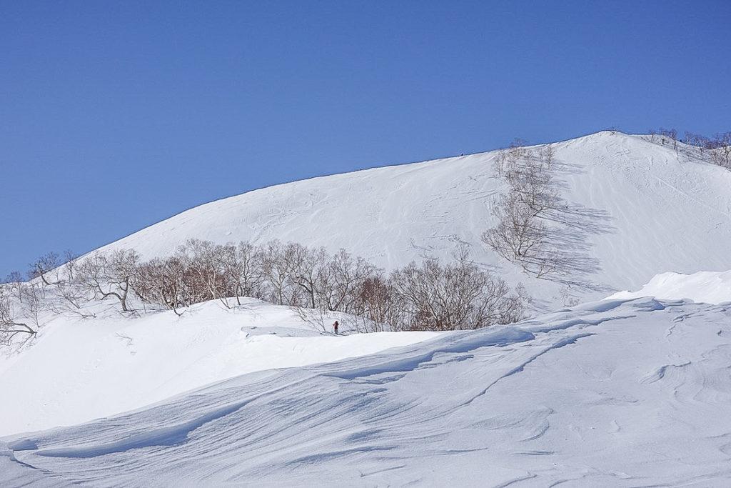 積雪期・唐松岳・下ノ樺を越えて丸山へ