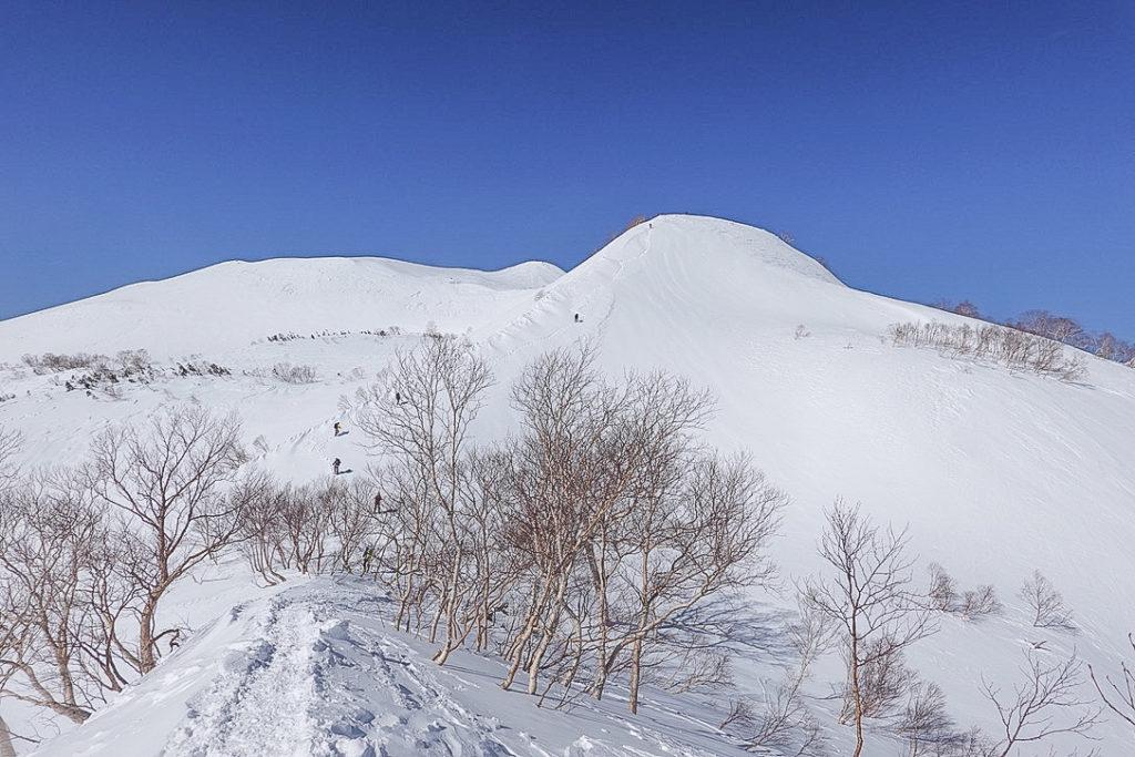 積雪期・唐松岳・丸山へ・上ノ樺