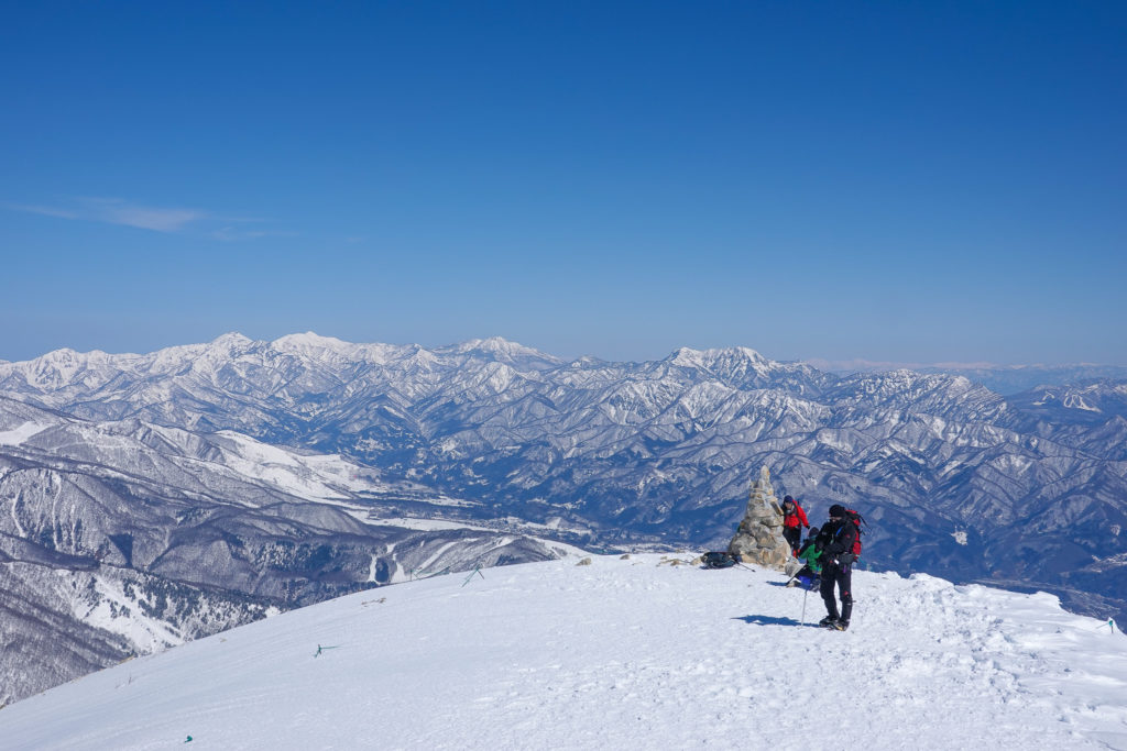 積雪期・唐松岳・丸山からの妙高高原