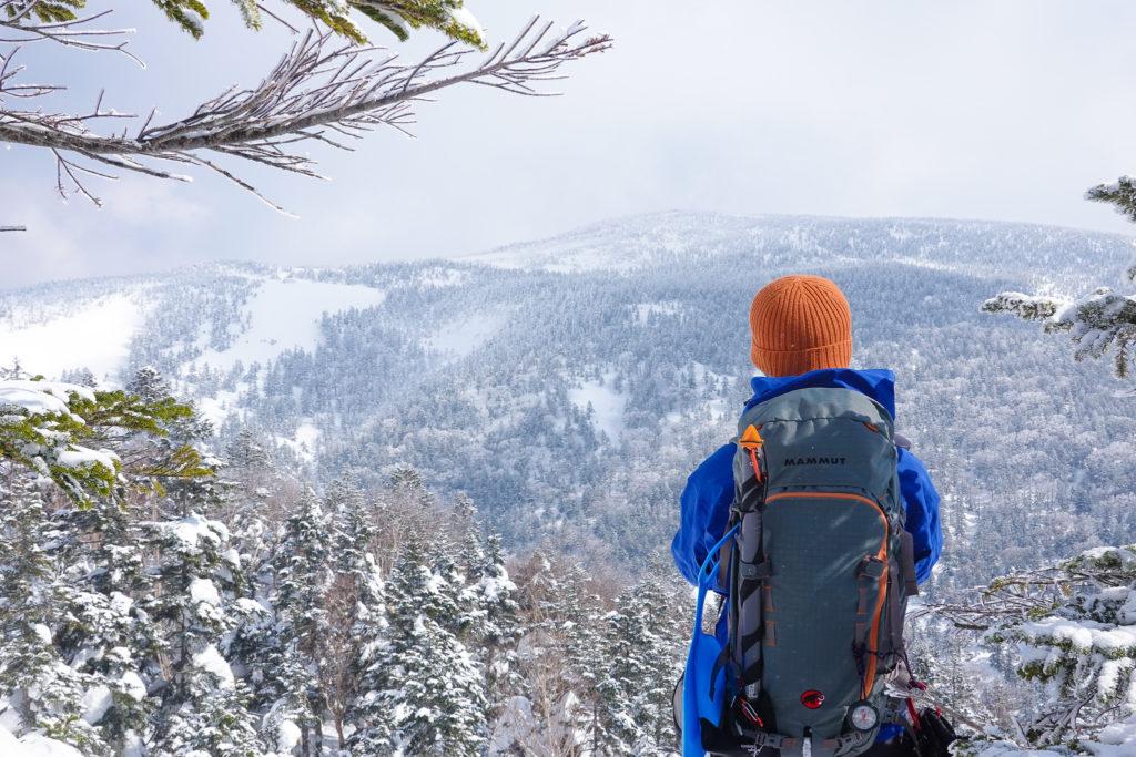 残雪期・西吾妻山・西大巓の途中から西吾妻山が見えた!