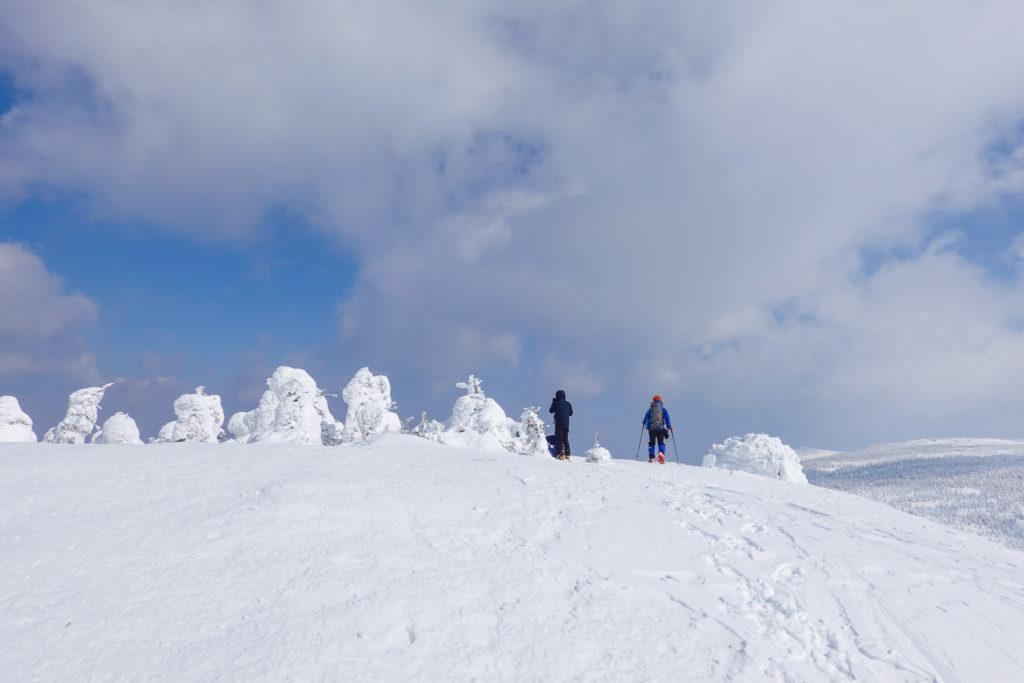残雪期・西吾妻山・西大巓